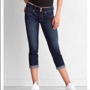 American Eagle Artist Crop Jean Capris New Jeans